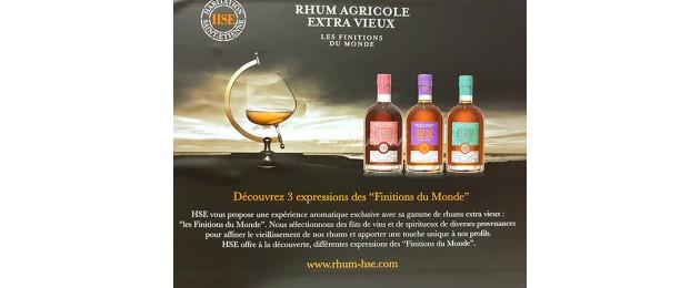Rhum Vieux Agricole HSE Finitions du Monde - Coffret 1