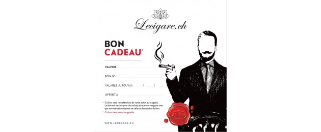 Gift voucher Lecigare.ch
