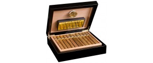 Cave à cigares Adorini Torino Black - Deluxe